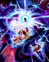 Goku MUI Cosmic Dragon Fist - Remastered by Faozan92
