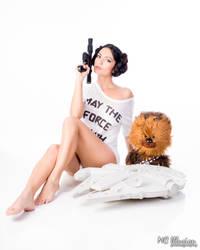 Princess Leia Comfy Tshirt by Ivy95