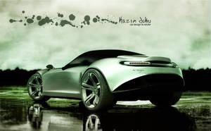 concept car design back by kazimdoku