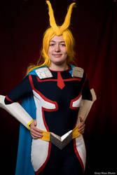 Cosplay : All Might (Young Age) by AlienGirl34