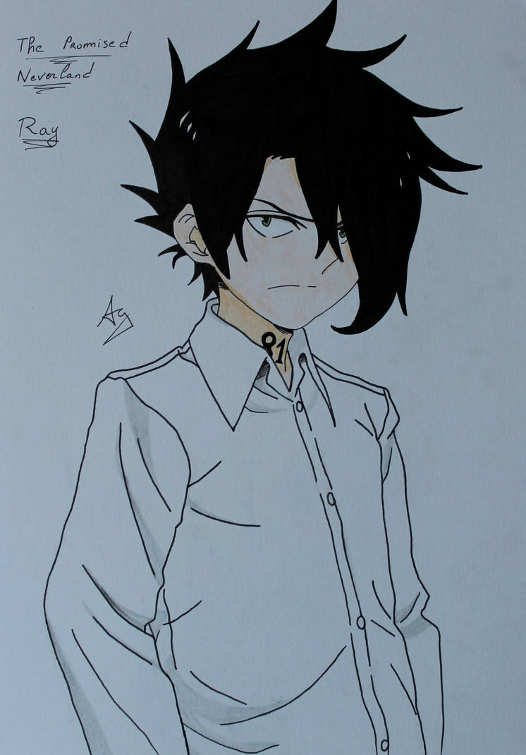 The Promised Neverland : Ray by AlienGirl34