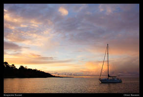 Kingscote Sunset by oliau