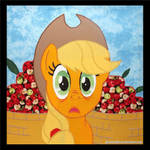 Applebuck Season -- EFNW Charity Quilt Square 2015 by Peruserofpieces