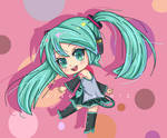 Miku-chan on MS Paint by Poisonseed12