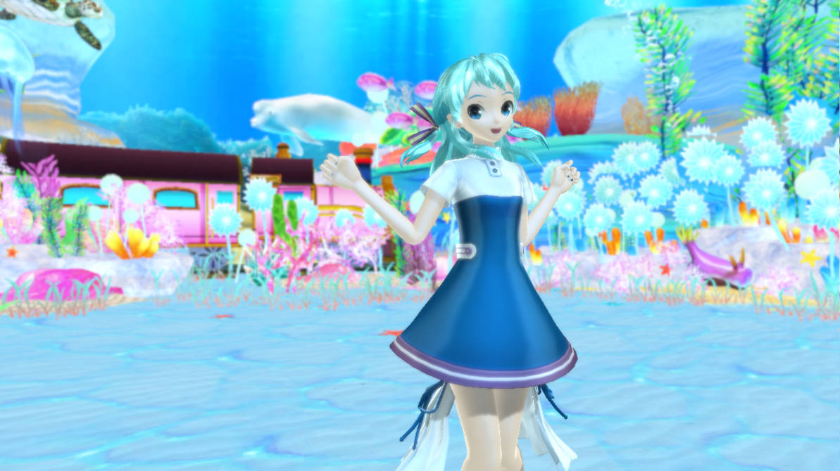 [MMD]-Tale of Deep Sea Lily by Poisonseed12