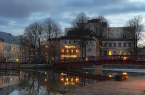 An Evening in City Park IX by HenrikSundholm