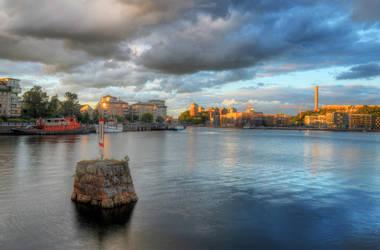 Ferry Clouds by HenrikSundholm
