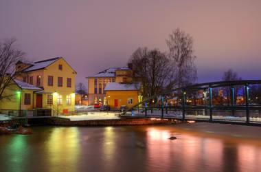 A Violet Stream III by HenrikSundholm