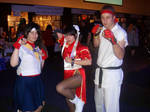 Street fighter cosplays by Hotaru-oz