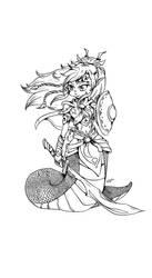 Warrior lines by Hotaru-oz