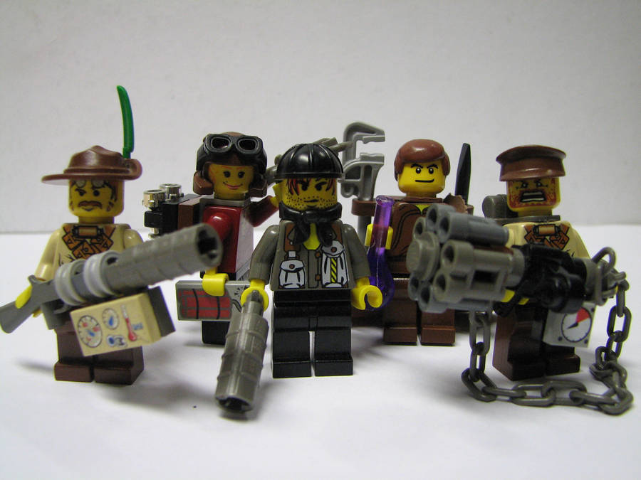 Lego Steampunk Heroes by Maroventolo