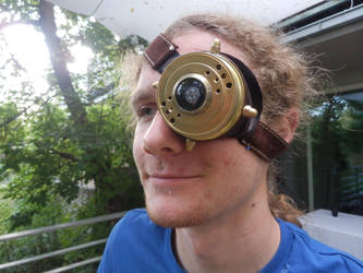 My Steampunk Monocle by Maroventolo