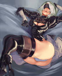 2B [censored] by cutesexyrobutts