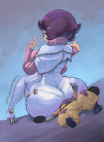 Wicke huge butt #2 - RIP Hapu edition by cutesexyrobutts