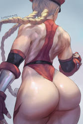 shadaloo cammy sketch by cutesexyrobutts