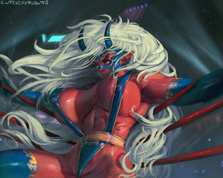 #381 wrestling oni pt1 by cutesexyrobutts