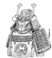 Samurai by RodrigoDiazAravena