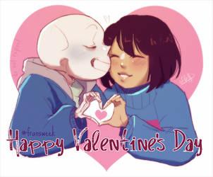 Day 7: Valentine's [Fransweek] by elleap