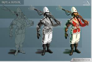 British Officer by RPGartist