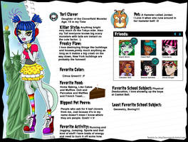 Tori Clover MH Page by Gomamon4life