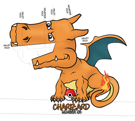 Charizard Optical Illusion by Gomamon4life