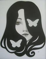 dos mariposas by alealgethi