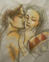 Kiss by alealgethi