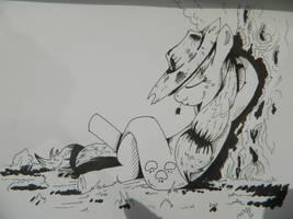 sketch 01 Sleepyjack by saturdaymorningproj
