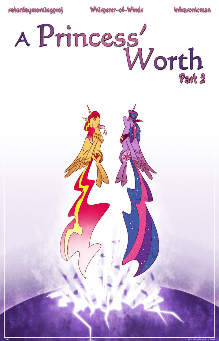 A Princess' Worth Pt 2 Cover by saturdaymorningproj