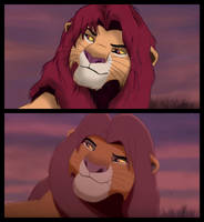 Lion King II Redraw by C-Universe