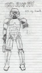 Stormtrooper by Jargum