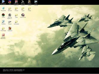 My desktop by Jargum