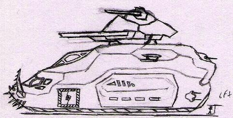 Gunship transport by Jargum