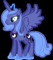 Princess Luna Vector by MisterLolrus
