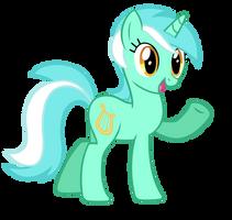 Lyra Says Hi - Vector by MisterLolrus