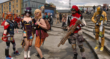 Borderlands Group by ArcaneArchery
