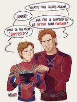Peter vs. Peter by Chipiron