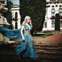 Daenerys Targaryen drive by Tori-Tolkacheva
