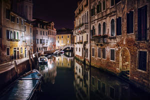 Night street of Venice by Tori-Tolkacheva
