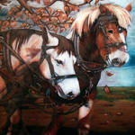 Two Horses by tkarl