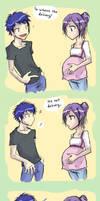 Expecting by Dyemelikeasunset