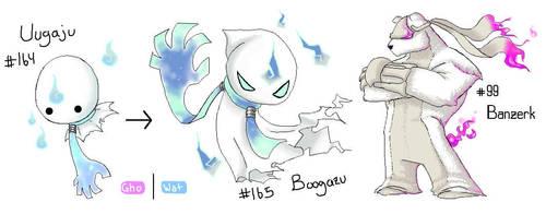 Fakemon: Ooga Booga...Bear by Dyemelikeasunset