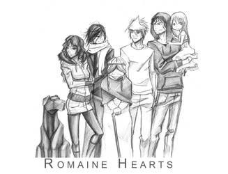:Romaine Hearts: by Dyemelikeasunset