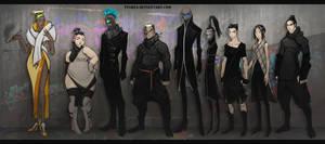 A:CtS Cyberpunk AU Again by Dyemelikeasunset