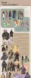 Fantasy Sketchdump 3 by Dyemelikeasunset