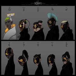 Solaris- Assassin line up by Dyemelikeasunset