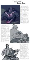 CoS Origins: Elliel by Dyemelikeasunset