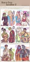Fantasy Sketchdump17 by Dyemelikeasunset