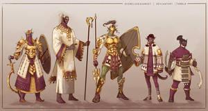United Southern Royal Guard by Dyemelikeasunset