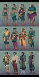 Aseri Wardrobe by Dyemelikeasunset